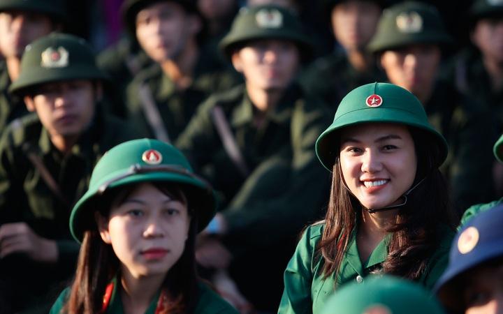 Tuyển sinh khối trường quân đội 2021: Xác định điểm chuẩn riêng theo đối tượng nam - nữ