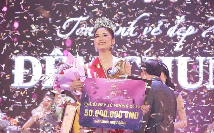 Nữ sinh 19 tuổi đăng quang Người đẹp xứ Mường 2019