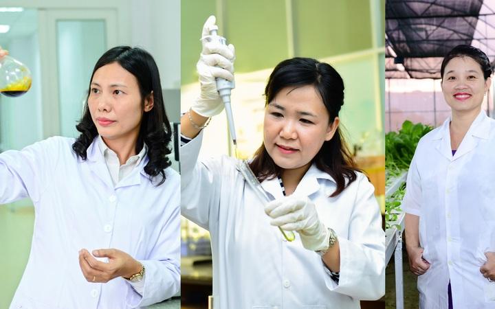 Chân dung 3 nhà khoa học nữ xuất sắc năm 2019