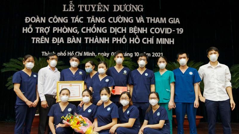 """""""Lực lượng chi viện chống dịch ở TPHCM như những người lính cảm tử"""""""