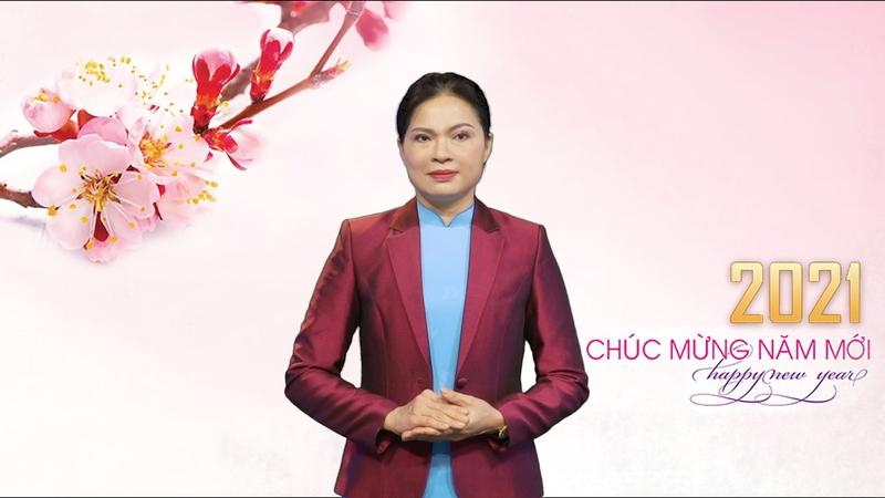Lời chúc mừng năm mới của Chủ tịch Hội LHPN Việt Nam Hà Thị Nga