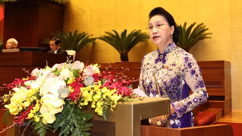 Kỳ họp thứ 11 mang tính chất cầu nối, chuyển giao nhiệm kỳ của bộ máy Nhà nước