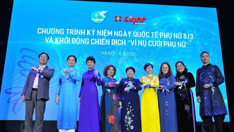 """""""Vì nụ cười phụ nữ"""" để hạnh phúc lan tỏa trong gia đình và cộng đồng"""